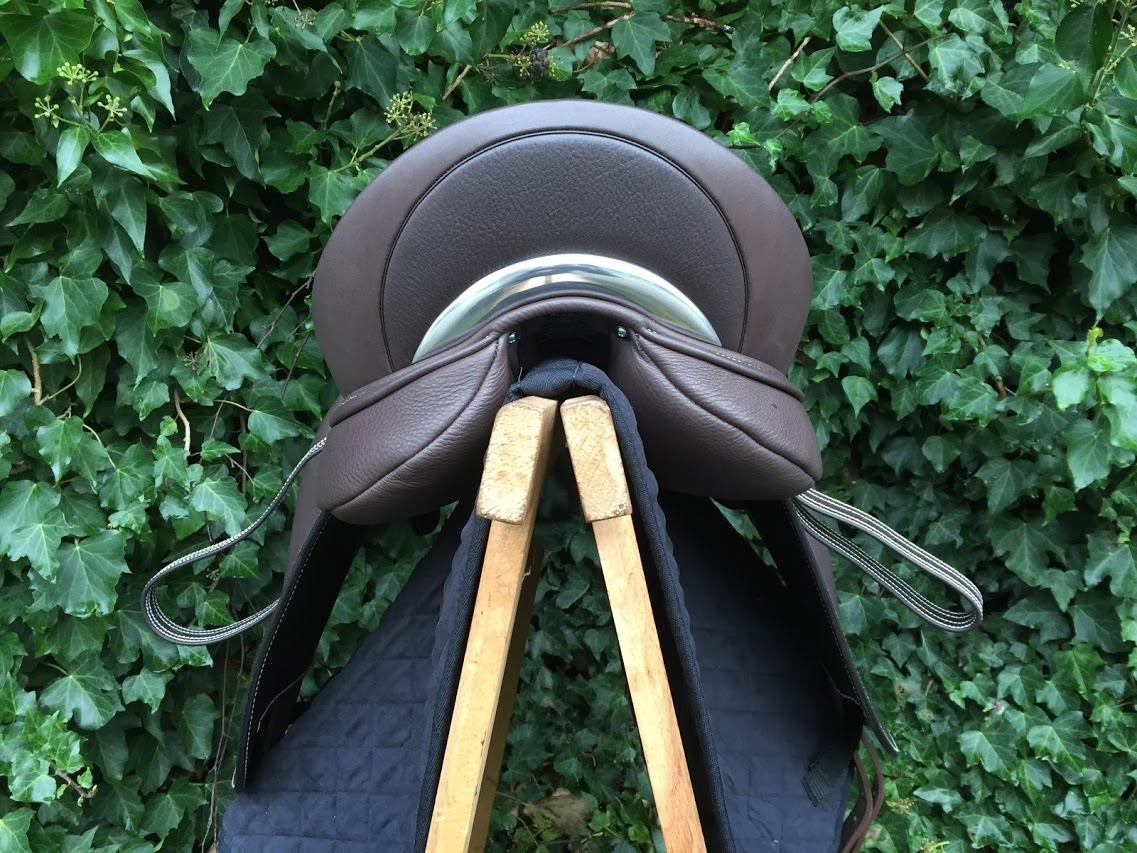 Dressur Extratiefer Sitz - Glattleder 'haircell' geprägt 2